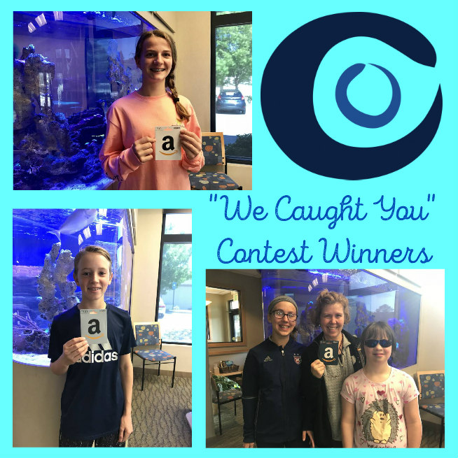 Dr John Clinebell Decatur Orthodontics children and adults 2018 caught you winners